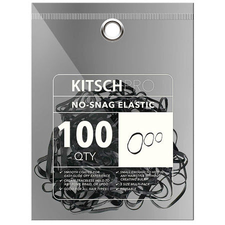 No Snag Hair Elastic - Black