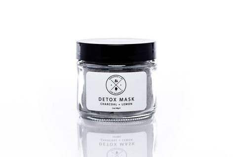 Detox Mask - Charcoal + Lemon - Birchrose +. Co.
