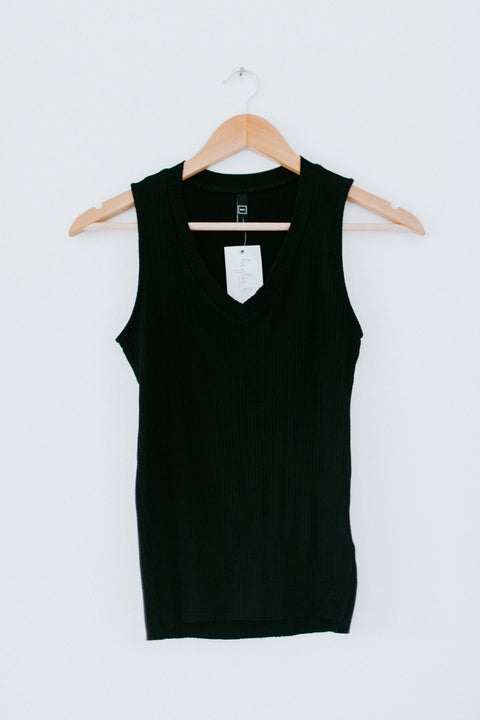 Calling It Out Tank - Black