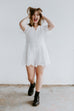 Looking For Love Romper - White