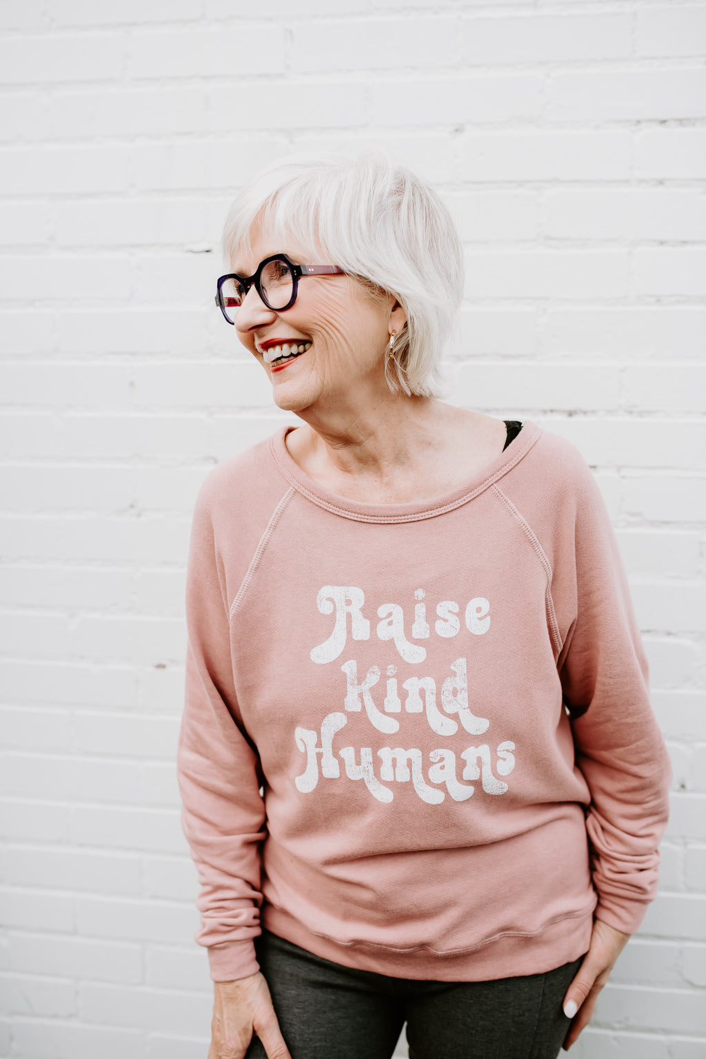 Raise Kind Humans Pullover