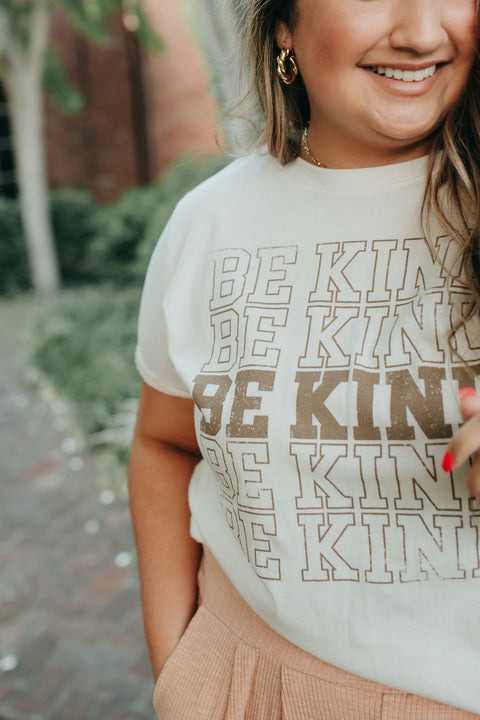 Be Kind Tee- Natural