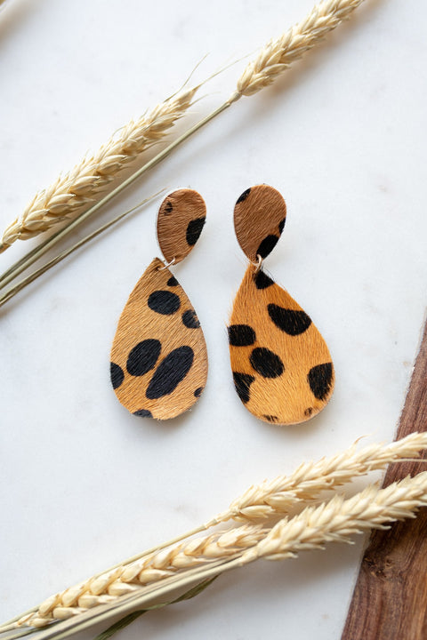 Leopard Love Earrings