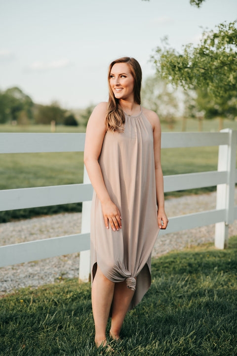 Keep It Coming Dress- Blush
