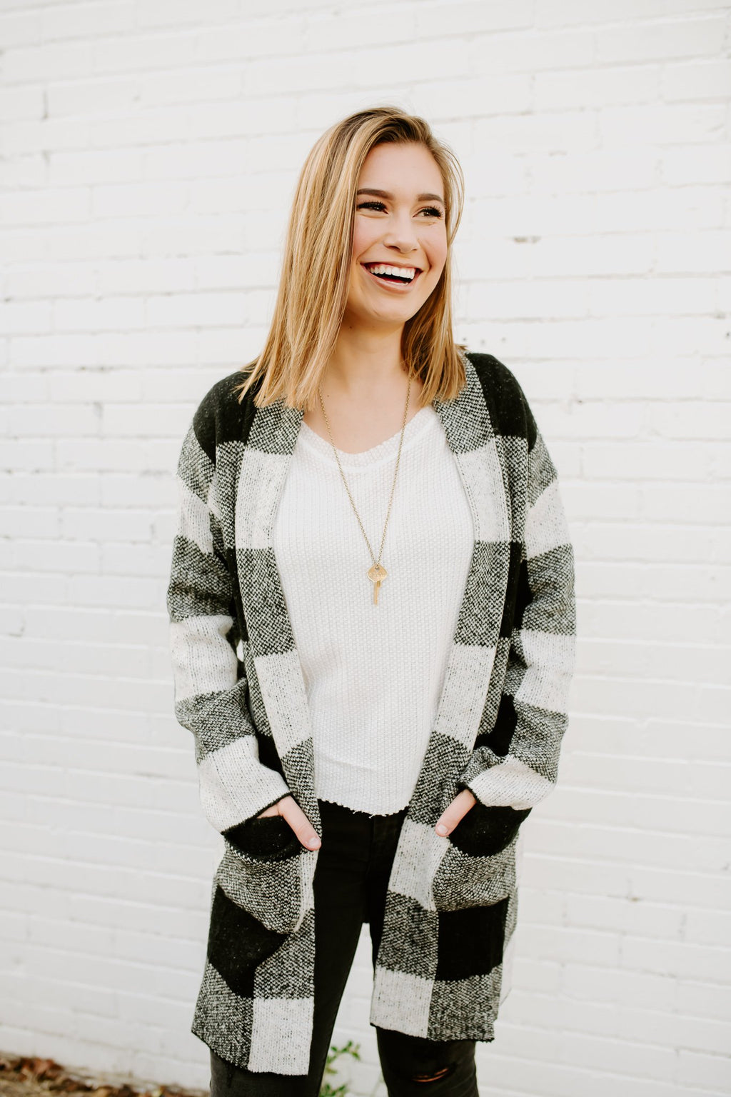 Mad About Plaid Cardigan