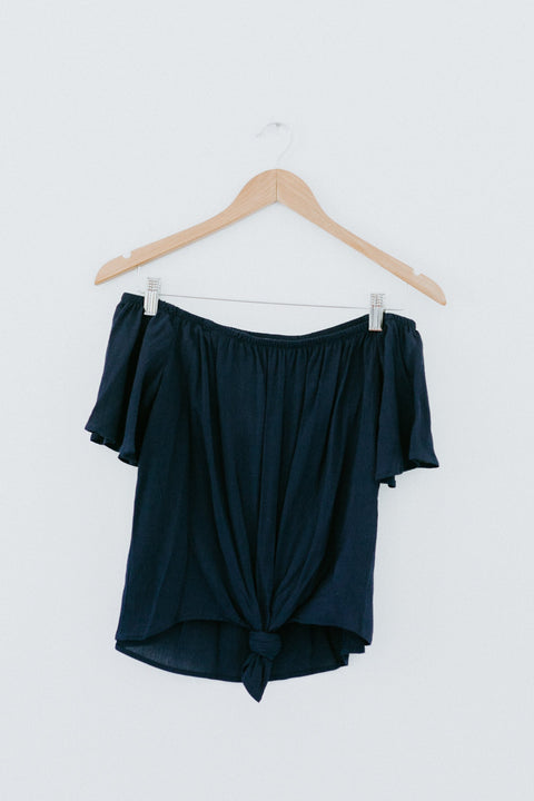 In The Waiting Top- Navy