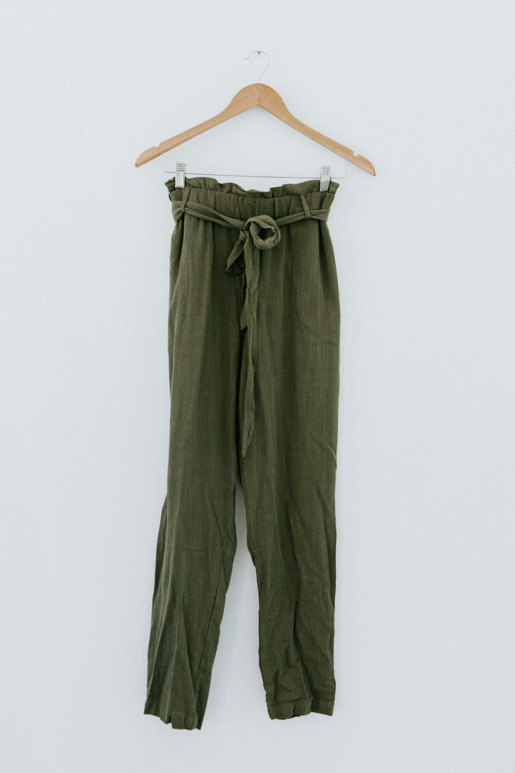 Just Like That Pants - Olive