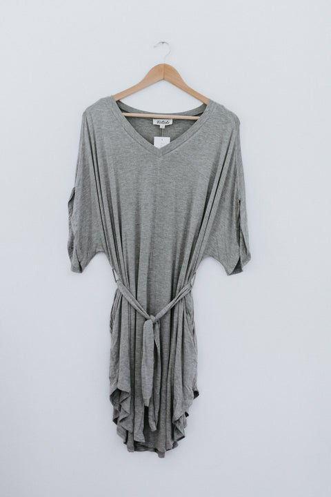 Another Level Dress - Heather Grey