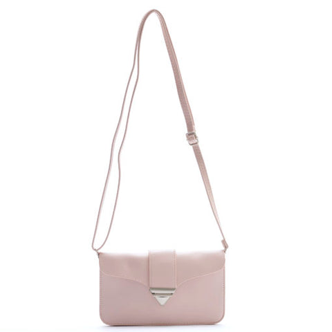 Jacqueline Crossbody (Wide) – Muted Rose