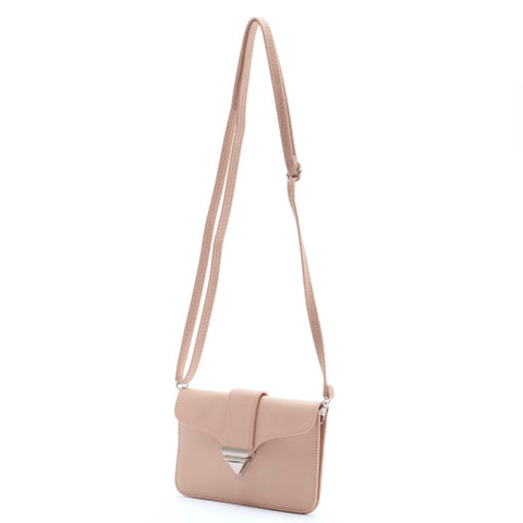 Jacqueline Crossbody (Wide) – Tan