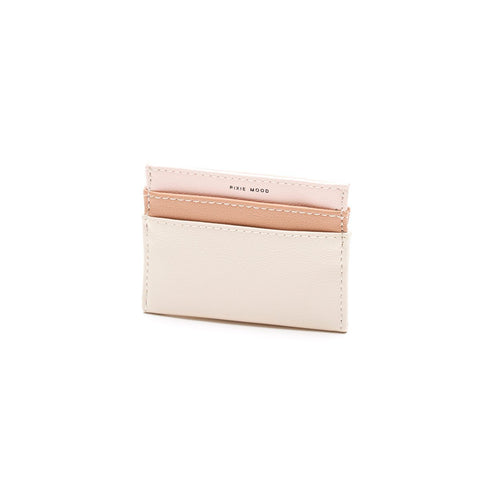Alex card Holder - Blush/Praline
