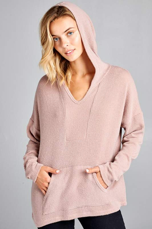 Call Me Cozy Top - Blush