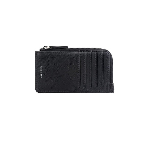 Quinn Zipper Wallet - Black