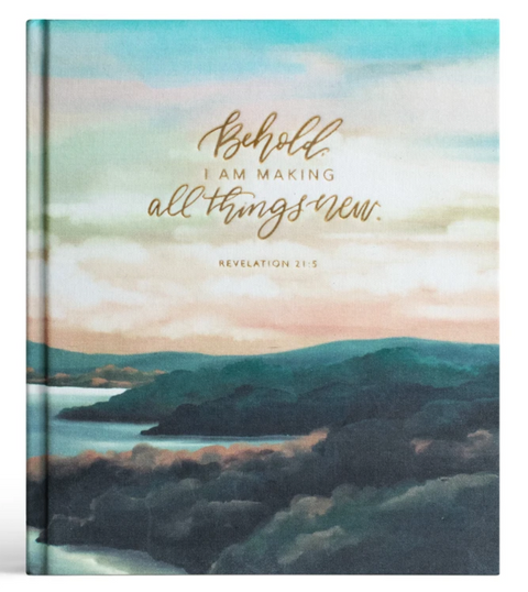 HOSANNA REVIVAL ESV BIBLE : MOUNTAIN HOME THEME (GOLD)
