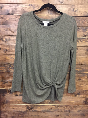 My First Love Top - Olive