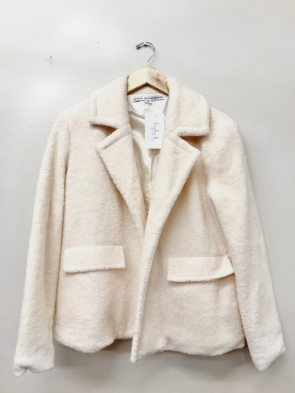 Build My Life Coat - Cream