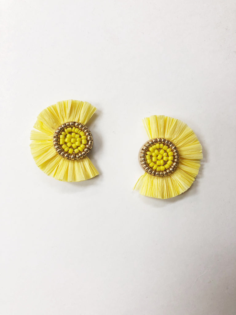 Mellow Yellow Earring