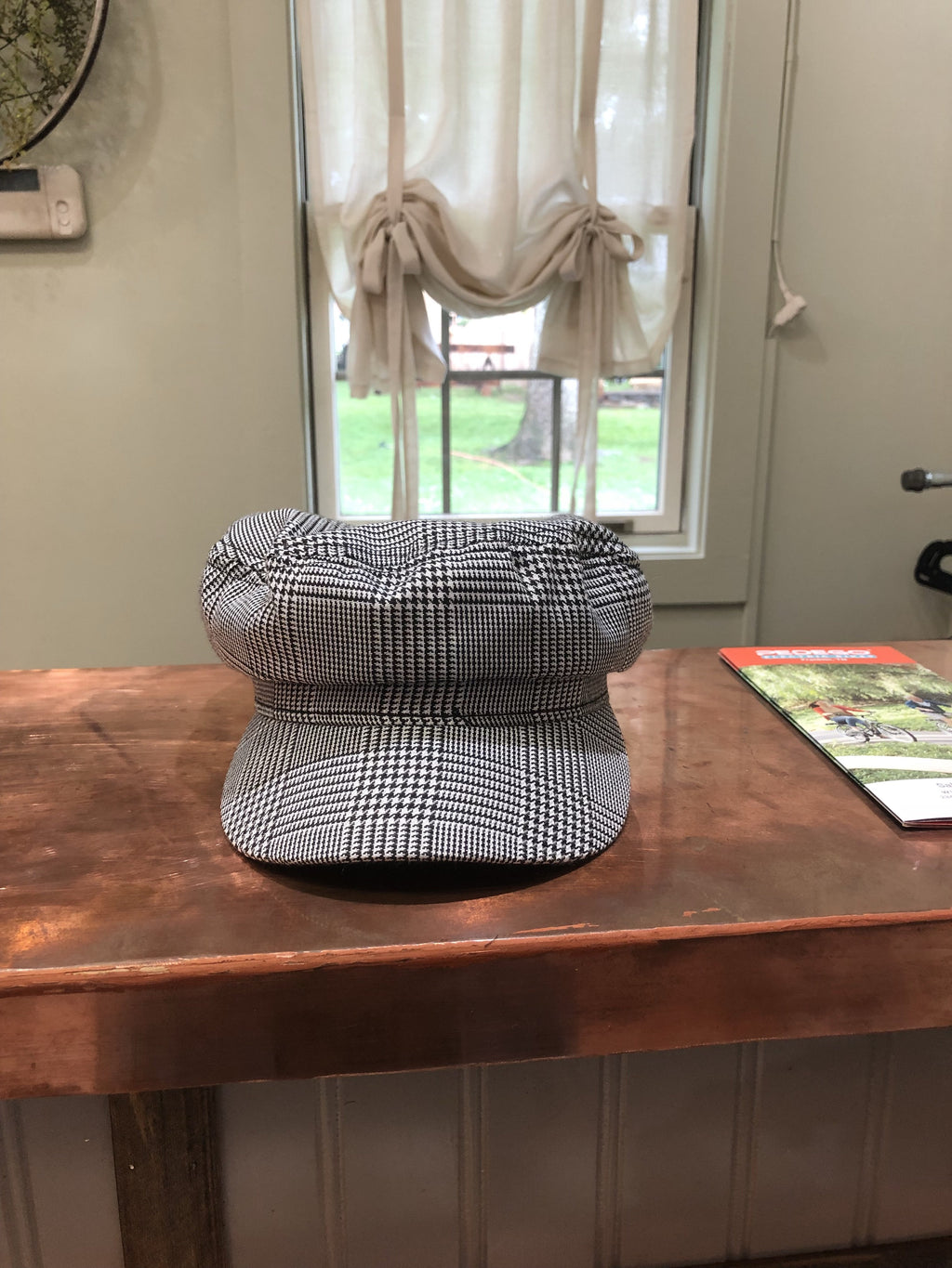 Plaid Margaret Hat