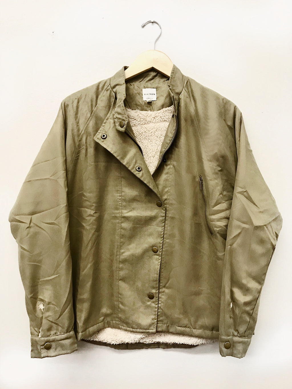 Staying Warm Jacket - Green