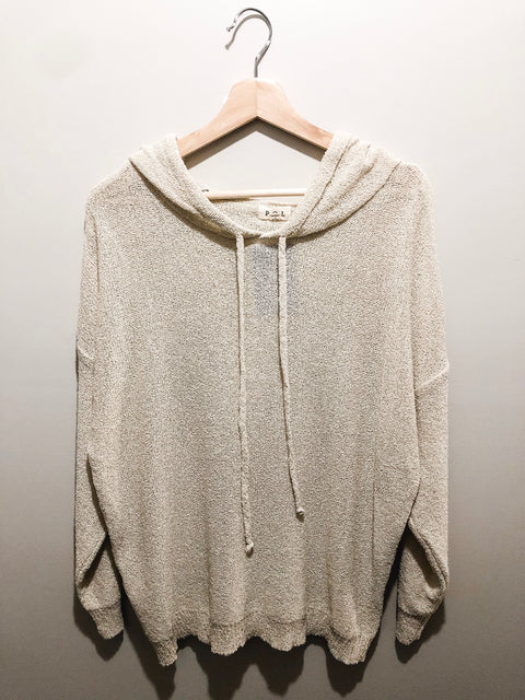 Summer Nights Sweater- Natural
