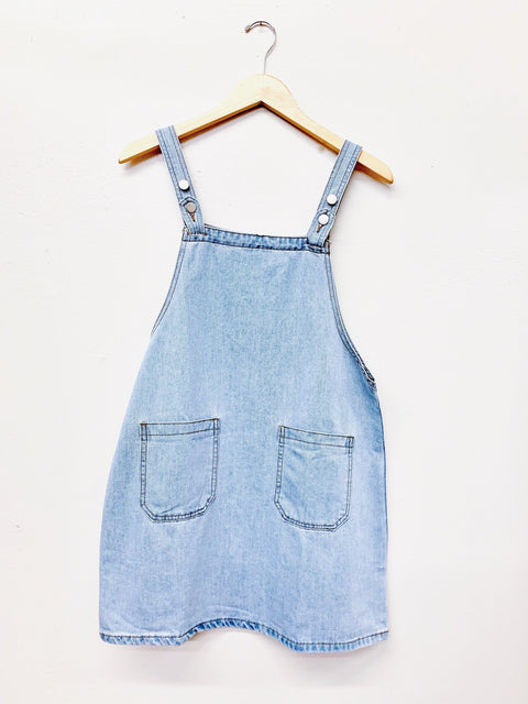 Your Heart Denim Dress - Light