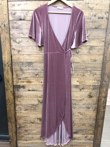 Have Mercy Wrap Dress