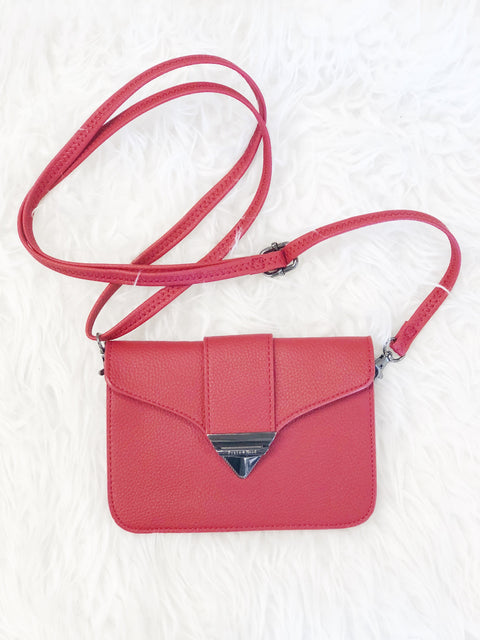 Jacqueline Pouch - Poppy Red