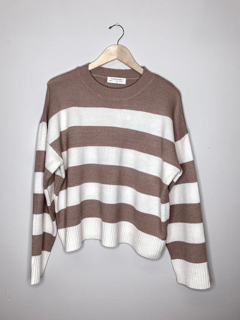 Breathe New Life Sweater - Mauve