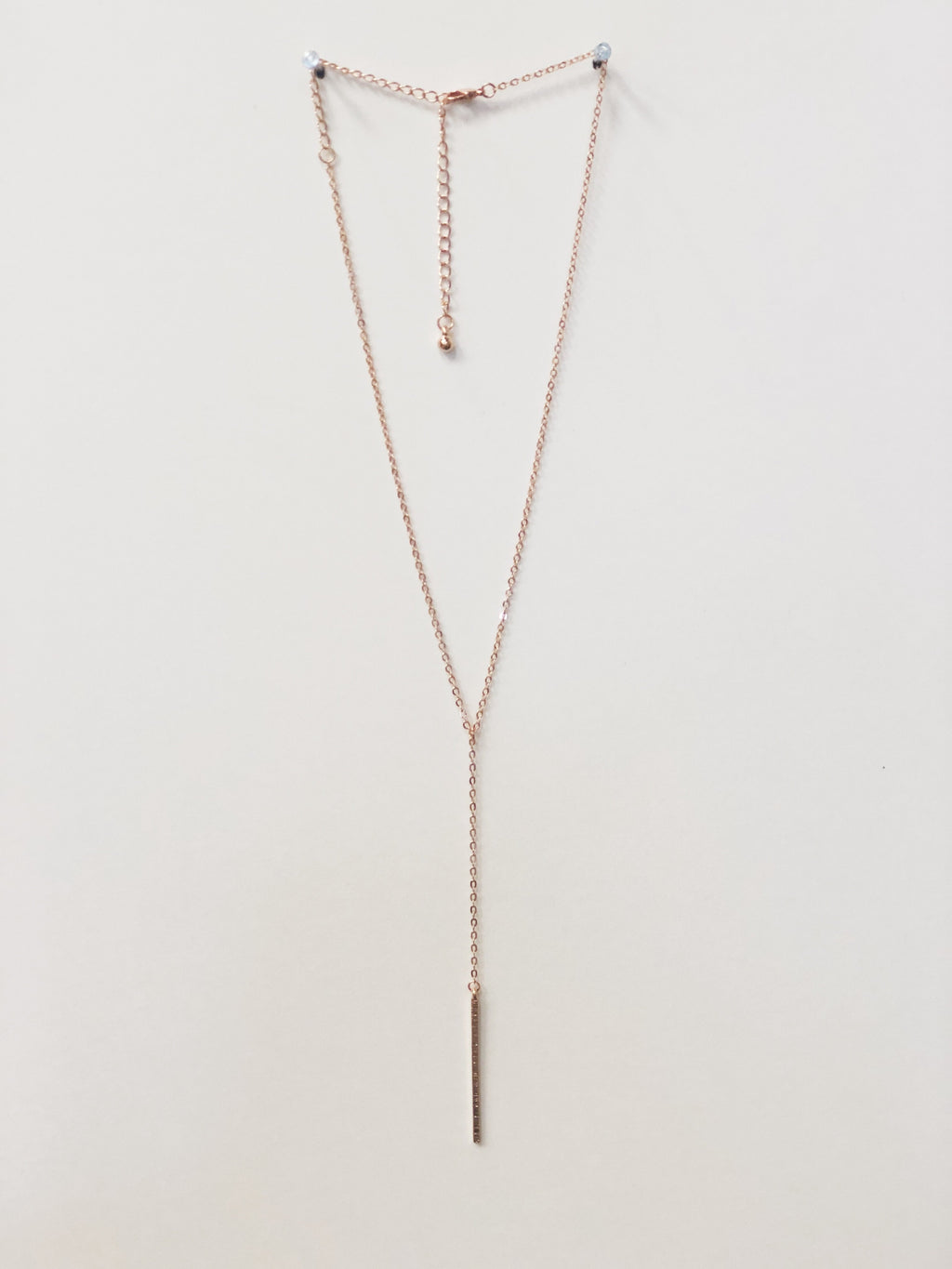 Pausing Life Necklace - Rose Gold