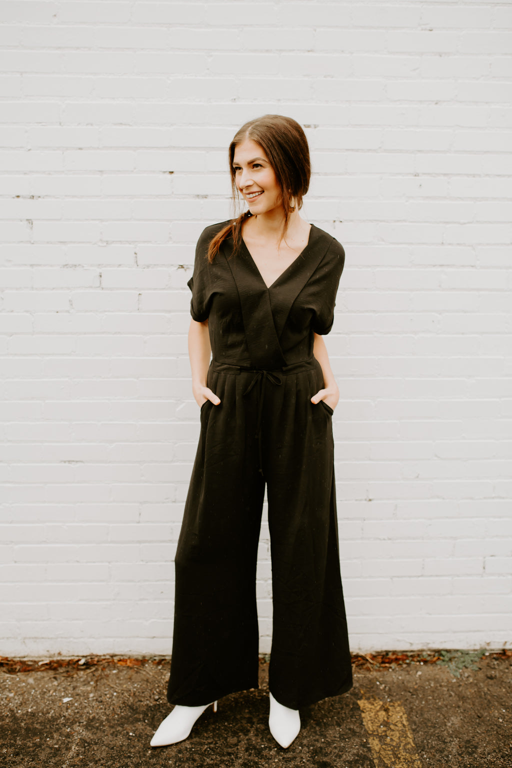 Now or Never Jumpsuit- Black