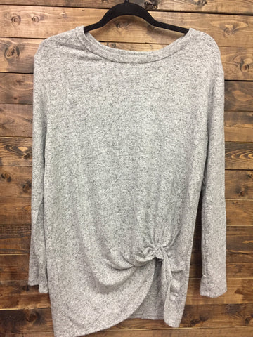 My First Love Top - Heather Grey