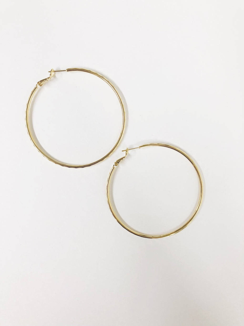 Holla Back Girl Hoop - Gold