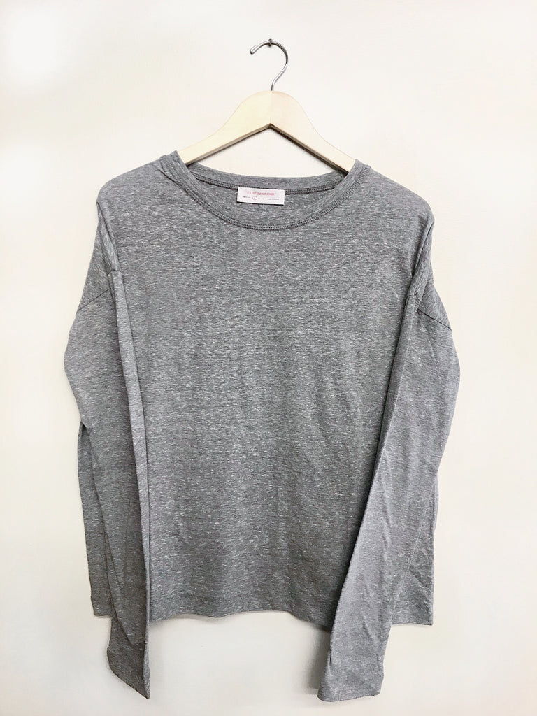 Cozy It Up Top - Charcoal