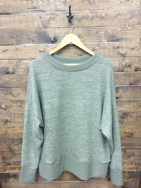 Take Me With You Sweater - Olive