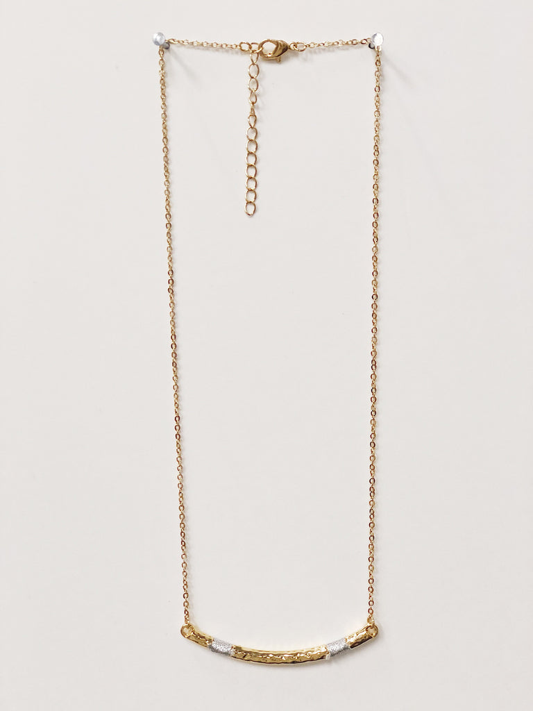 Golden Wrapped Necklace