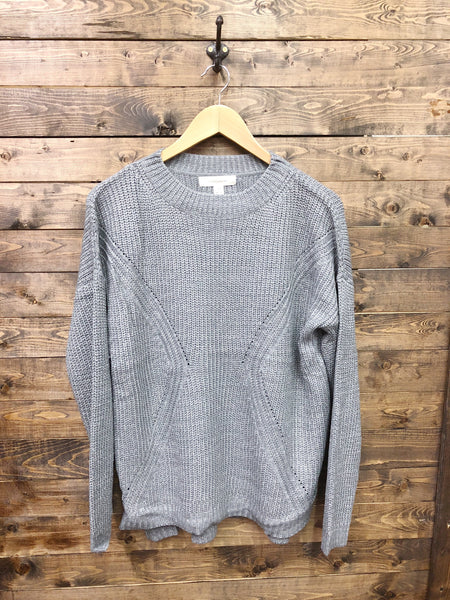 Light Of Day Sweater - Grey