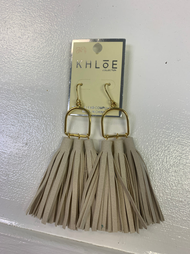 All In Fun Tassel Earring