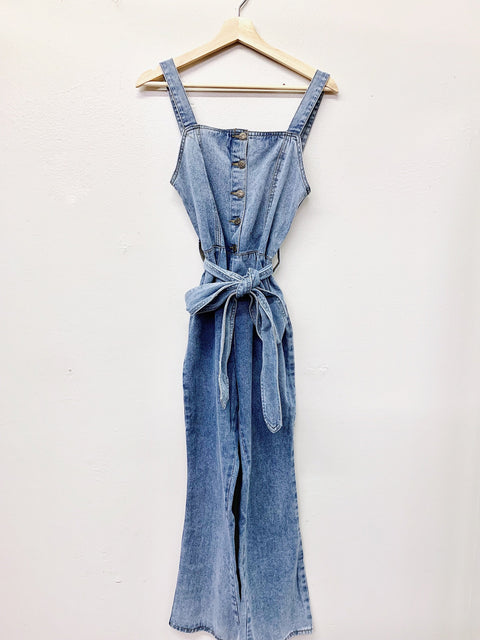 Melody Jumpsuit - Light Denim