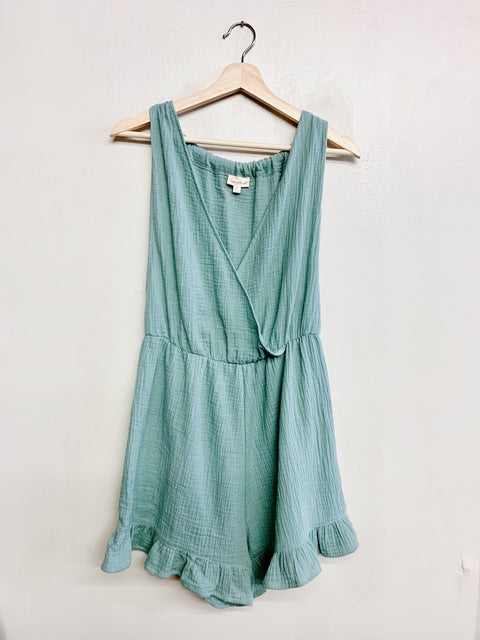 Feel It Still Romper