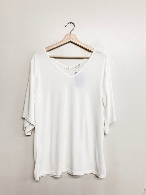 Slow Morning Top- Ivory