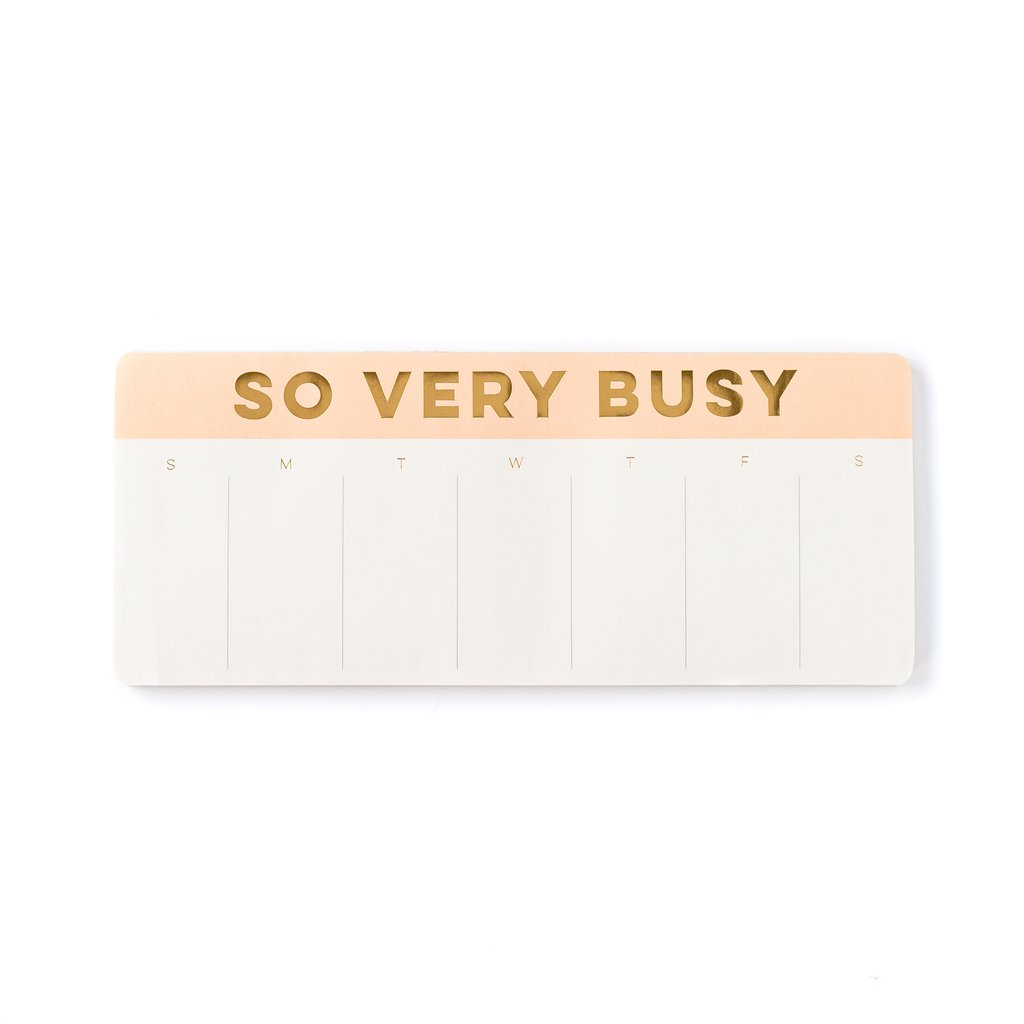 So Busy Keyboard Notepad