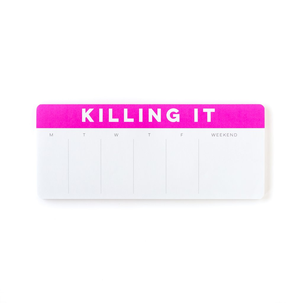 Killing It Keyboard Notepad