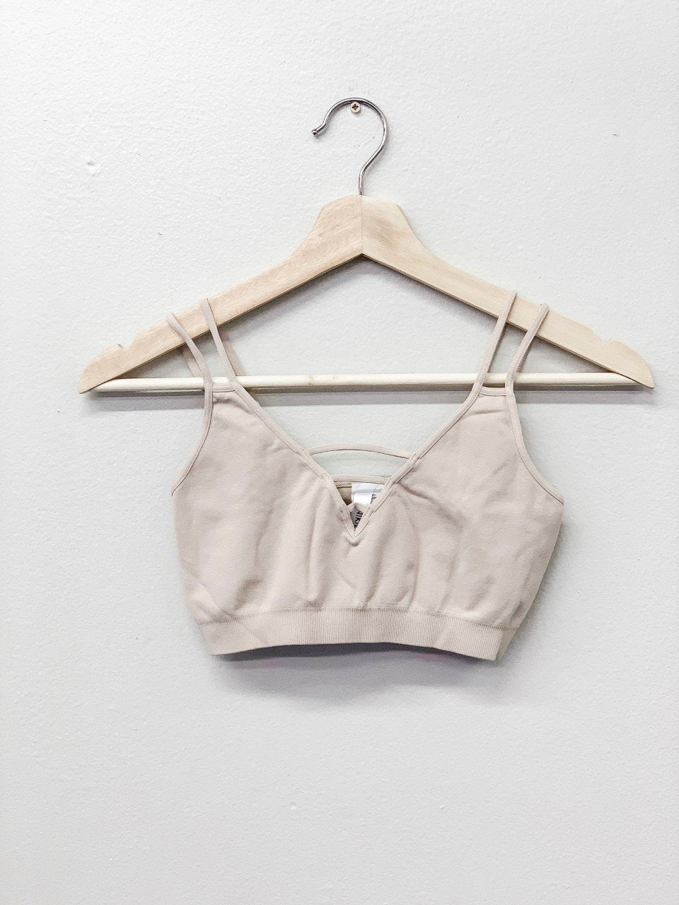 Strappy Bralette // Iced Latte