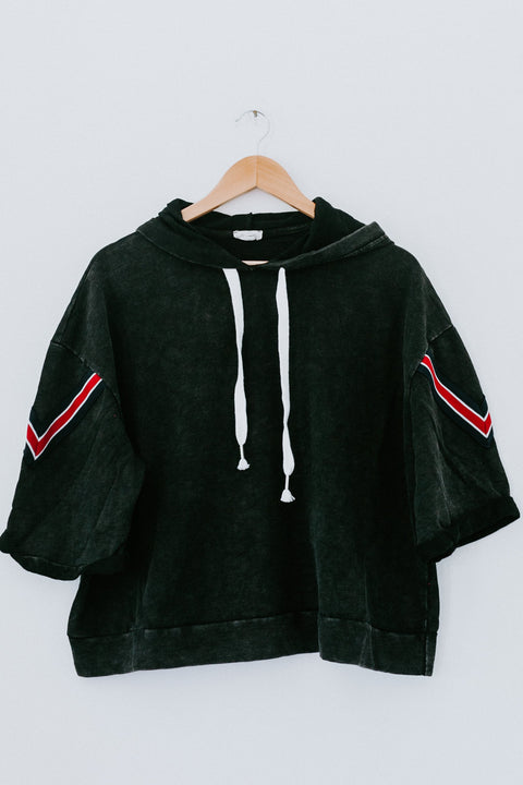 On The Road Again Hoodie - Black
