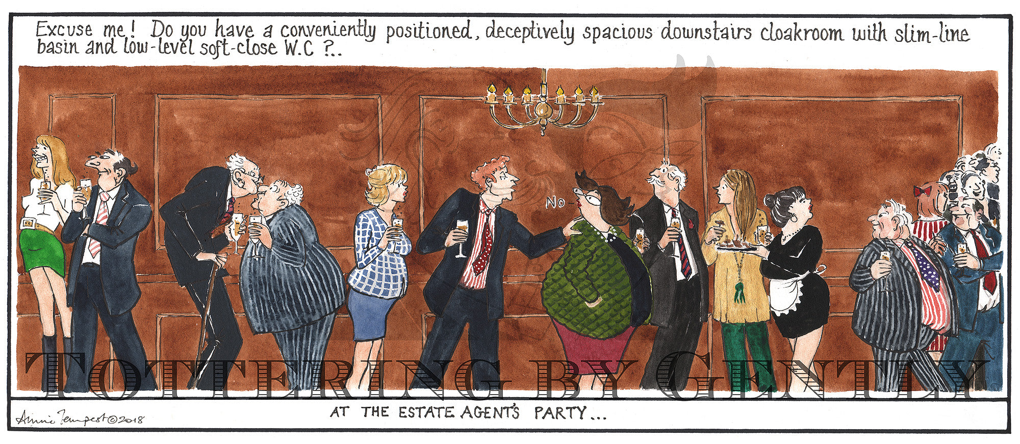At the Estate Agents Party... (CL1285)