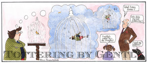 Daffy swinging in a cage... (CL1350)