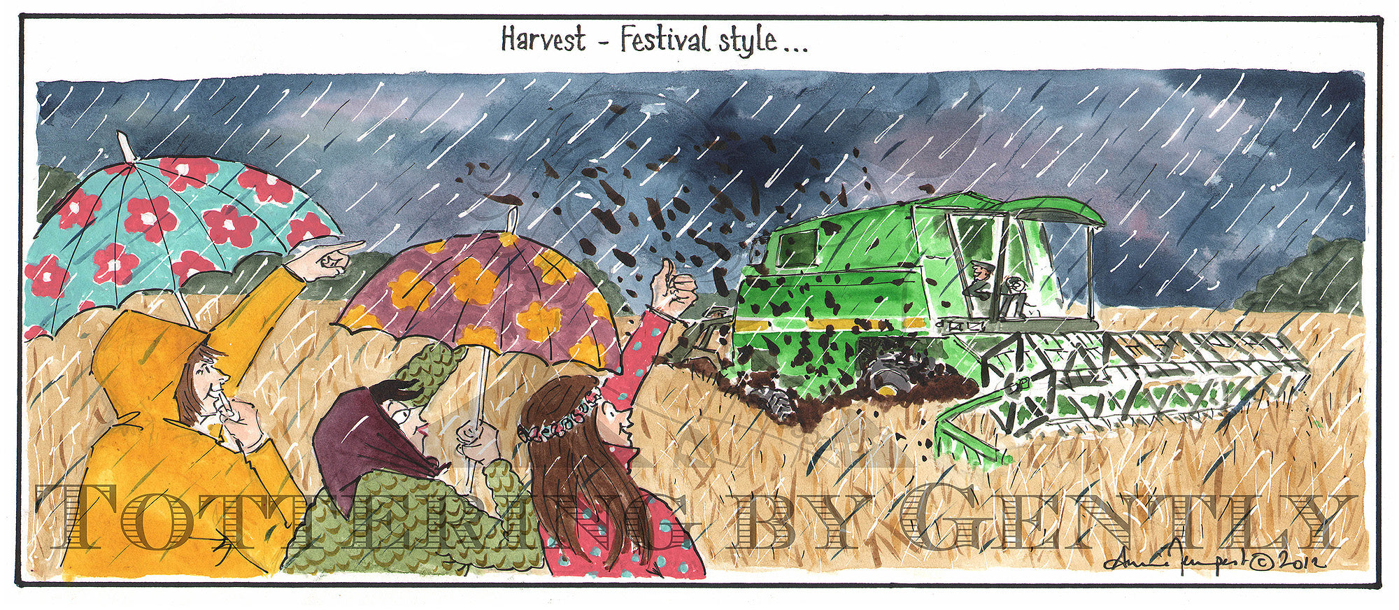 Harvest - Festival Style... (CL956)