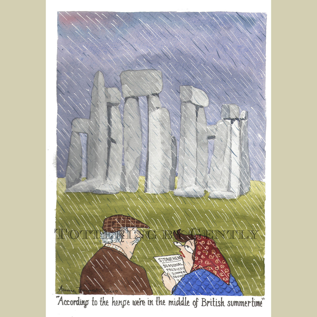 English Heritage:  Stonehenge design... (S1017)