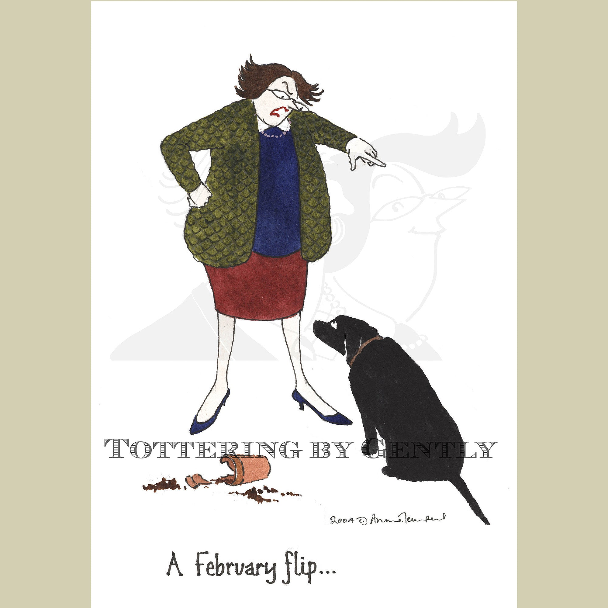 The Tottering Year : A February flip... (S259B)