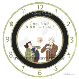 Clock: Surely it can't be that time already!... (S472)